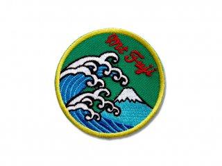 波富士ワッペン(みどり)