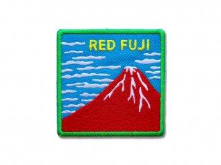 赤富士ワッペン(濃青)