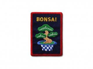 BONSAIワッペン(紺)