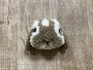 うさぎのブローチ たれ耳ブロークン 0024