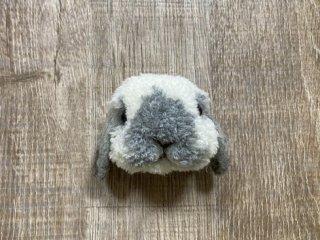 うさぎのブローチ たれ耳ブロークン 0026