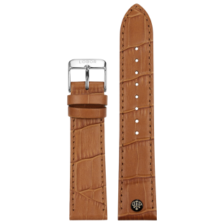 BROWN STRAP 22MM(SILVER)