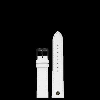 WHITE STRAP 16MM(BLACK)