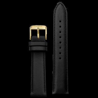BLACK STRAP 20MM(GOLD)