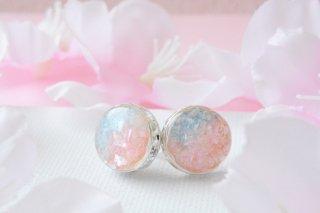 【春限定】青空と桜:ピアス/イヤリング
