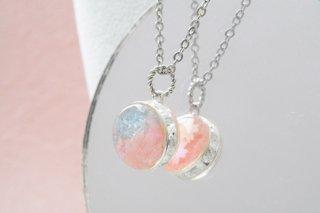【春限定】青空と桜/さくらさく:替え玉(ペンダントチャーム)