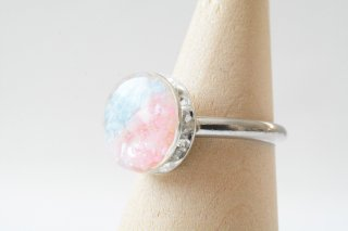 【春限定】青空と桜:指輪