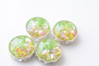【4/6販売色】草原の花畑:ピアス/イヤリング