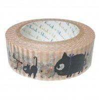 マスキングテープ uneven cats_walk