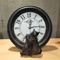 置時計(ねこ)
