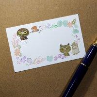 メッセージカード(mokumokuK)