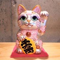 招き猫(安江美香作)