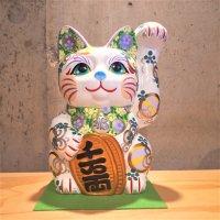 招き猫7号(安江美香作)