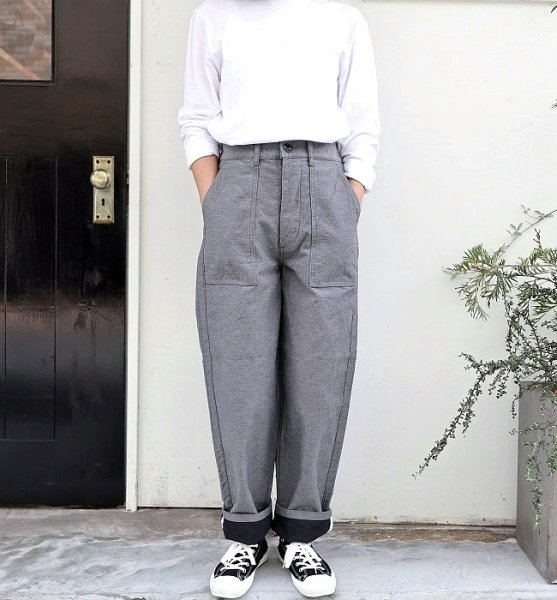 Ordinary fits  TOMAS PANTS(GRY)