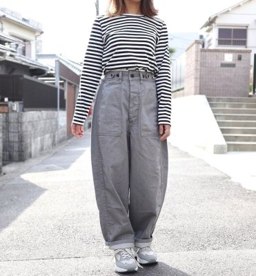 Ordinary fits  JAMES PANTS(GRY)