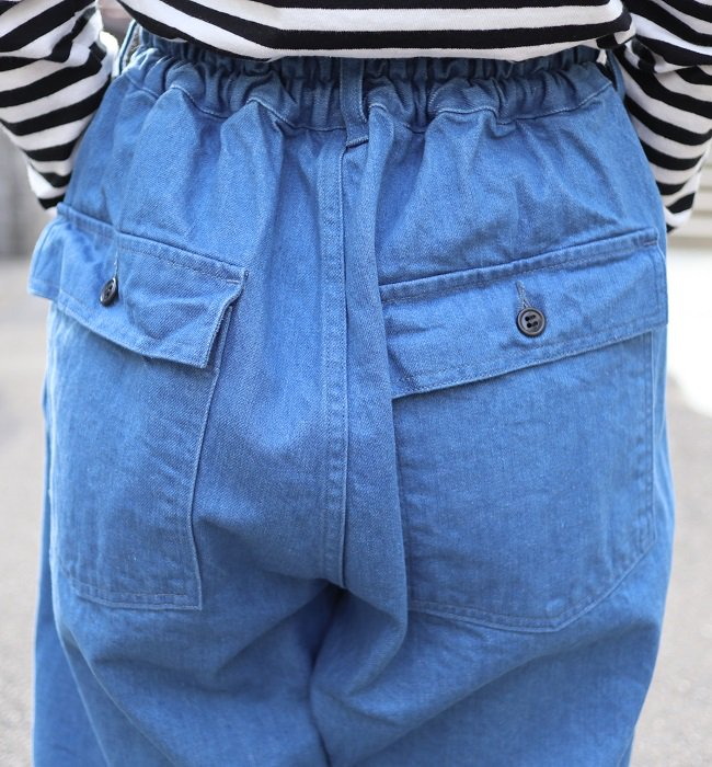 Ordinary fits  JAMES PANTS(BLU)