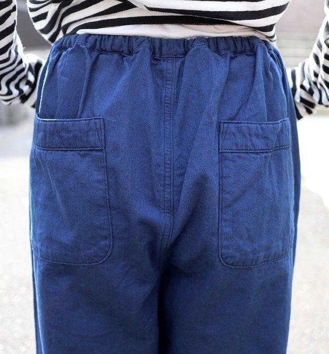 Ordinary fits  PAJAMA PANTS(BLU)