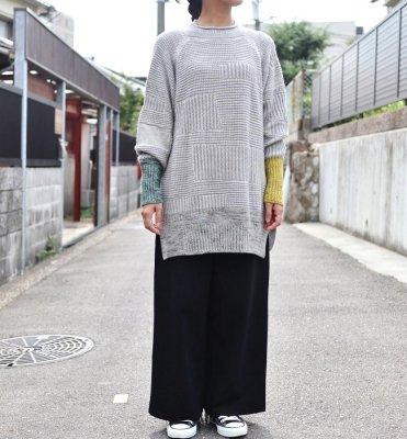 tamaki niime PO knit デカ(GY)