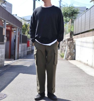 Ordinary fits  M-47 TYPE CARGO PANTS