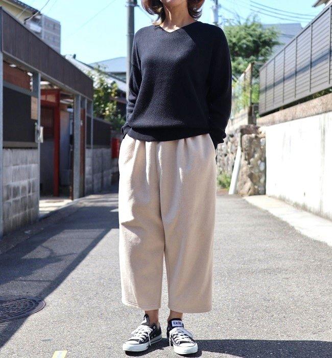 LE CIEL 起毛ダブルフェイスPT(KN/CH)