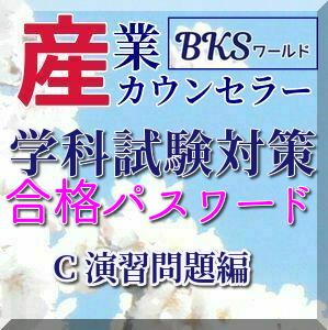 SS001C 産業カウンセラー学科試験対策マスターブックC 演習問題編