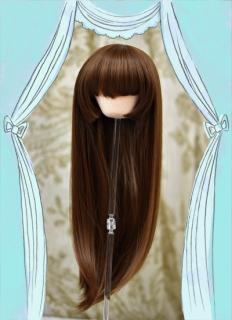 姫カット(チョコブラウン)