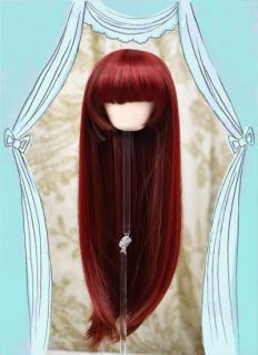 姫カット(マルーン)