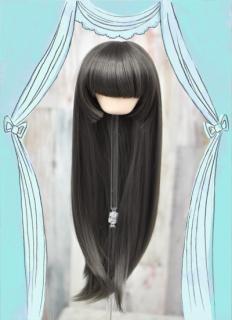 姫カット(チャコールグレー)