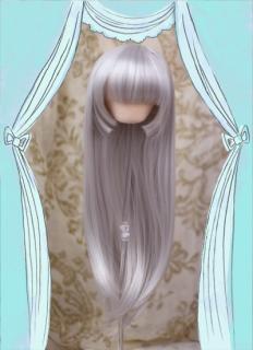 姫カット(パールシルバー)