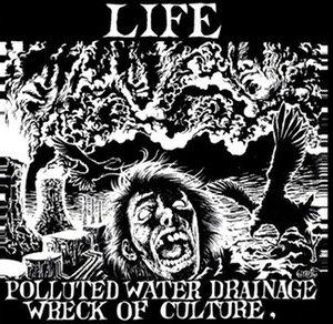 LIFE / ZUDAS KRUST Split EP (ltd. GREEN VINYL)