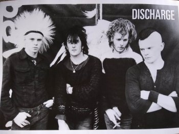 DISCHARGE - 1983 OFFICIAL POSTER