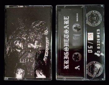 """KRIGSHETSARE """"Demo MMXX"""" TAPE (Ltd. 50)"""
