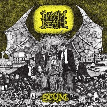 "NAPALM DEATH ""Scum"" CD (REISSUE, DIGI-PACK)"