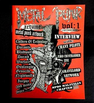 METAL PUNK ART ZINE Vol.1 (Ltd.150)