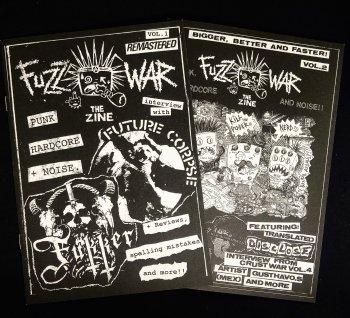 FUZZ WAR Vol.1 & Vol.2 - 2 ZINE SET (2冊セット)