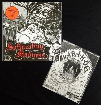 "SUFFOCATING MADNESS ""S/T"" EP (Ltd.500) (Ltd.100 WARTHOG WEEKEND VERSION)"