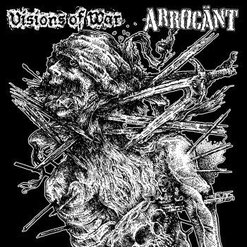 VISIONS OF WAR / ARROGANT - SPLIT LP (GATEFOLD)