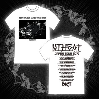 FACT - 公式Tシャツ / KTHEAT TOUR 2015 T-SHIRTS (WHITE)