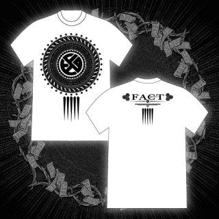 FACT - 公式Tシャツ / EMBLEM T-SHIRTS (WHITE)