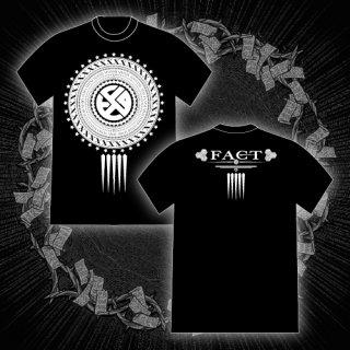 FACT - 公式Tシャツ / EMBLEM T-SHIRTS (BLACK)