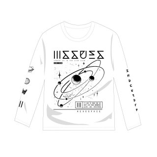 ISSUES - JAPAN TOUR 2017 公式 ロングTシャツ (ホワイト/白・長袖)