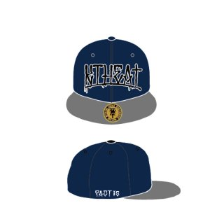 FACT - 公式グッズ / KTHEAT TOUR 2015 SNAPBACK CAP (Navy Blue/Free)