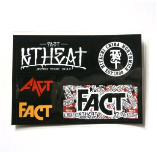 FACT - 公式ステッカーシート / KTHEAT TOUR 2015 sheet of sticker