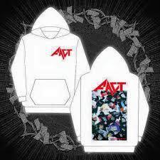FACT - 公式フード付きパーカー / R.I.P hoodie (WHITE)