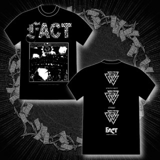 FACT - 公式Tシャツ / START FROM END T-SHIRTS (BLACK)