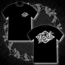 FACT - 公式Tシャツ / BASEBALL T-SHIRTS (BLACK)