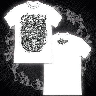 FACT - 公式Tシャツ / VOLCOM FRONT PRINT T-SHIRTS (WHITE)
