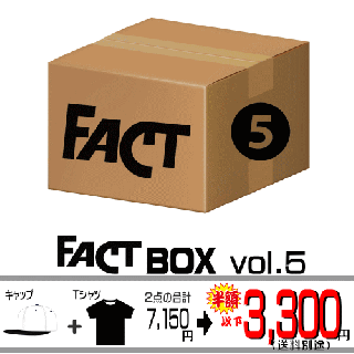 FACT - Box vol.5(FACTグッズ 限定セット vol.5)<img class='new_mark_img2' src='https://img.shop-pro.jp/img/new/icons29.gif' style='border:none;display:inline;margin:0px;padding:0px;width:auto;' />