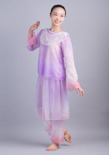 羽衣(紫×ピンク)[レンタル衣装]