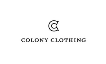 COLONY CLOTHING (コロニークロージング)